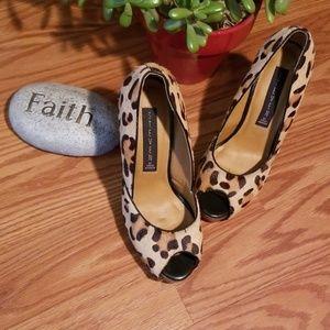 Steve madden cheetah heels 5 1/2